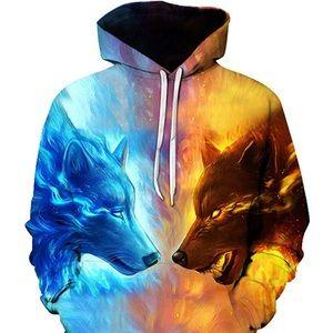 Zootop bear 3D Ice hot Wolf Printed Sweatshirt
